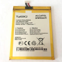 Batería Alcatel TLP020C2 3.8v 2000mAh 7.6wH, One Touch Idol X 6040