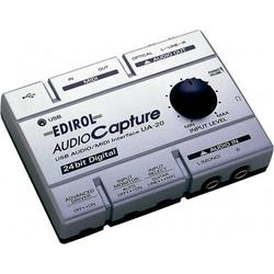 Capturadora de Audio USB interfaz MIDI Edirol UA-20