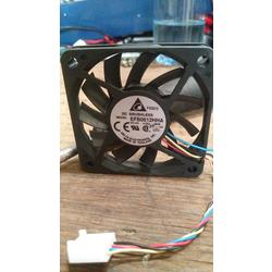 Cooler Brushless 6 x 6cm 12v 0.25A 11 Aspas